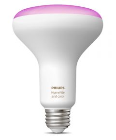 Philips Hue White & Color Ambiance BR30 LED Smart Bulb (Bluetooth / Zigbee / Alexa / Google Assistant Compatible)