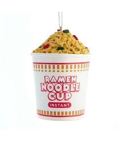 Ramen Noodle Cup Christmas Ornament