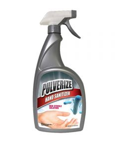 Pulverize 80% Alcohol Liquid Hand Sanitizer, 32 oz. Ready to Use Spray Bottle