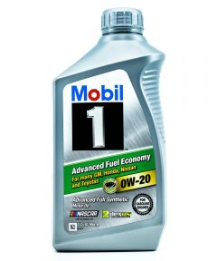 Mobil 1 Qt. SAE 0W-20 Advanced Full Synthetic Motor Oil