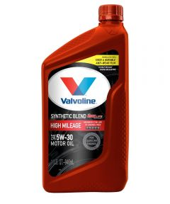 Valvoline 1 Qt. SAE 5W-30 Synthetic Blend High Mileage Motor Oil