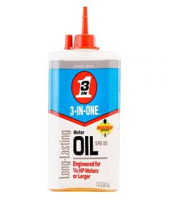 3-IN-ONE Motor Oil & Lubricant, 3 oz.