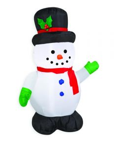 42 in. Inflatable Christmas Snowman