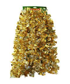 10 ft. Gold & Silver Christmas Tinsel Garland