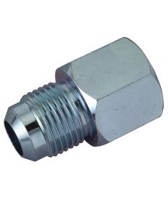"""Brass Craft Water Heater Gas Fitting Adapter, 1/2"""" OD Flare x 1/2"""" Female Thread"""