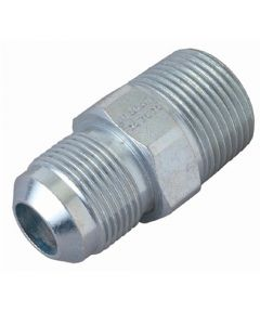 "Brass Craft Water Heater Gas Fitting Adapter, 1/2"" OD Flare x 1/2"" Male Thread, Tapped 3/8"" Female Thread"