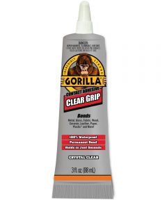 Gorilla Clear Grip Contact Adhesive, 3 oz.