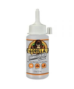 Gorilla Clear Glue, 3.75 oz.