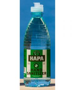 Hapa 80% Ethanol Alcohol Liquid Hand Sanitizer, 17 oz.