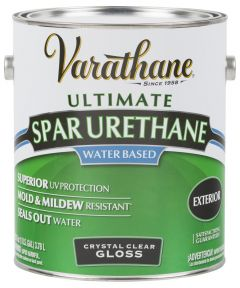 Varathane Crystal Clear Spar Urethane, 1 Gallon, Gloss