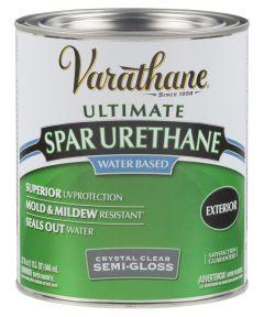 Varathane Crystal Clear Spar Urethane, Quart, Semi-Gloss