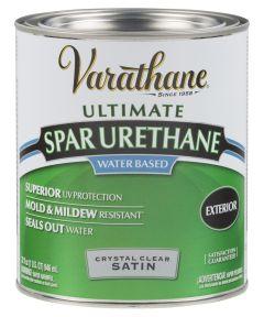 Varathane Crystal Clear Spar Urethane, Quart, Satin