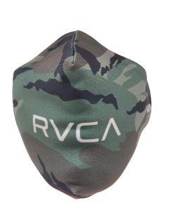 RVCA Reusable Fabric Face Mask, Camo