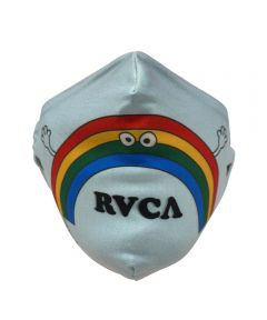 RVCA Reusable Fabric Face Mask, Cartoon Rainbow