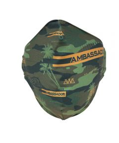 AWA Reusable Fabric Face Mask, Ambassador Camo