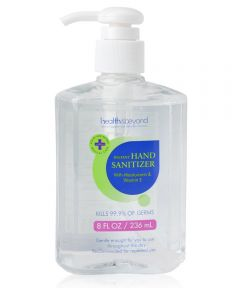 Health & Beyond 62% Ethyl Alcohol Hand Sanitizer Gel with Moisturizers & Vitamin E, 8 oz.