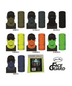 Face Guard Reusable Fabric Face Mask, Assorted Solid Colors