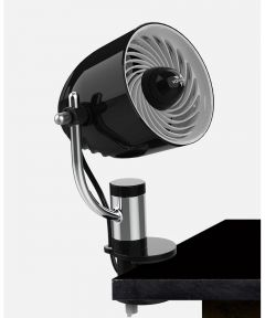 PIVOT Clip Personal Air Circulator, Black