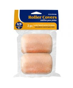 RollerLite  3 in. x 3/8 in. All Purpose Trim Standard Paint Roller Covers, 2 Pack