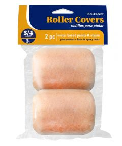 RollerLite 3 in. x 3/4 in. All Purpose Standard Trim Roller Covers, 2 Count