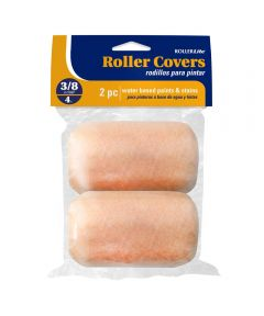 RollerLite  4 in. x 3/8 in. All Purpose Trim Standard Paint Roller Covers, 2 Pack