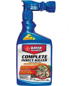 Bayer Advanced 2-Way Insect Killer, 32 oz Container, White to Light Beige, Liquid