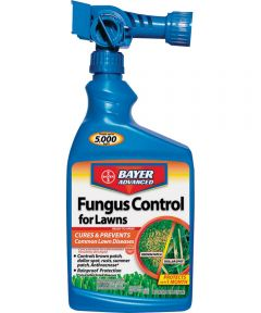Bayer Advanced Fungicide Fungus Control, 32 fl-oz., Bottle, 5000 sq-ft., Liquid
