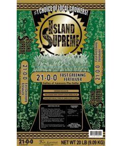 Island Supreme 20 lb. Fast Greening Fertilizer, 21-0-0