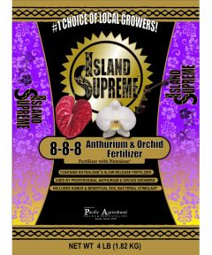 Island Supreme 4 lb. Anthurium & Orchid Fertilizer, 8-8-8