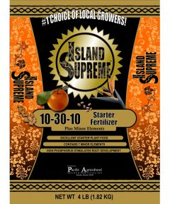 Island Supreme 4 lb. Starter Fertilizer, 10-30-10