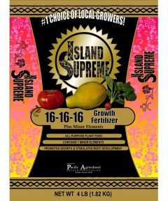 Island Supreme 4 lb. Growth Fertilizer, 16-16-16