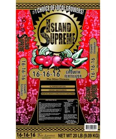 Island Supreme 20 lb. Growth Fertilizer, 16-16-16