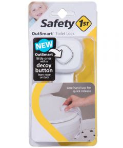 Safety 1st White OutSmart Toilet Lock