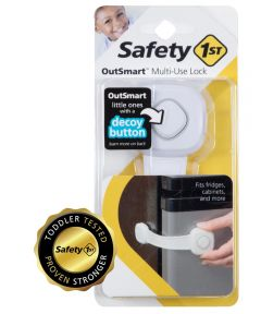 Safety 1st White OutSmart Multi Use Lock