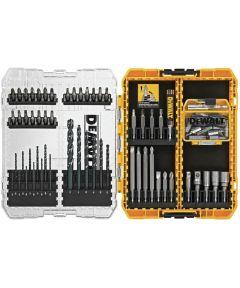 DEWALT 80 Piece Pro Drilling & Driving Bit Set with ToughCase Storage Case