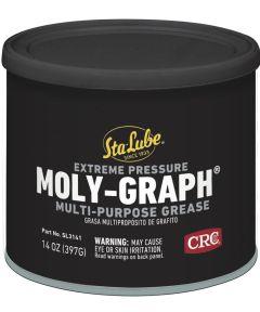 """Sta-Lube Extreme Pressure """"Moly-Graph"""" Multi-Purpose Grease, 14 oz."""