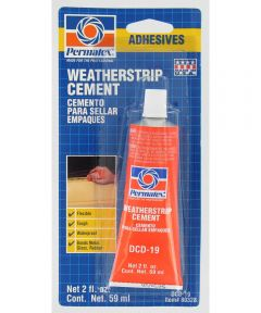 Permatex Weatherstrip Cement, 2 oz.