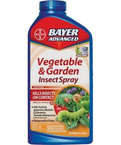 Bayer Advanced Concentrated Vegetable and Garden Insect Spray, 32 oz