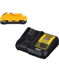 DEWALT 20V MAX* Lithium-Ion 3.0Ah Battery & Charger Starter Kit