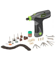 Genesis 8-Volt Lithium-Ion Rotary Tool with 65 Accessories