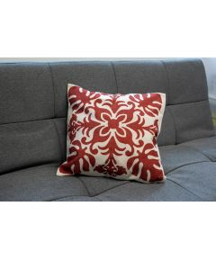Red Quilt Pillow Cover