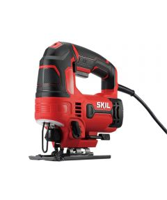 SKIL Corded 6 Amp Orbital Jigsaw with Halo Light / Wood Blade / Metal Blade