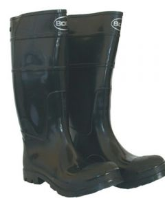 Size 10 Black Men's PVC Knee Boot