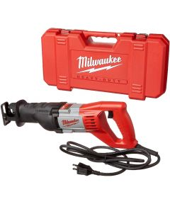 Milwaukee SAWZALL Corded 1-1/8 in. Stroke 12 amp Reciprocating Saw with Storage Case