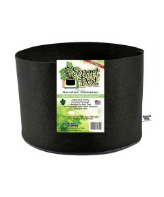 Smart Pot 5 Gallon Soft-Sided Plant Aeration Container (No Handles), Black