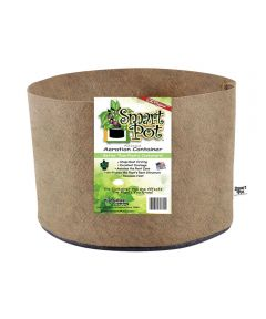 Smart Pot 5 Gallon Soft-Sided Plant Aeration Container (No Handles), Tan