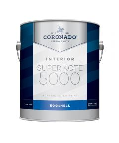 1 Gallon Super Kote 5000 Interior Eggshell White Paint