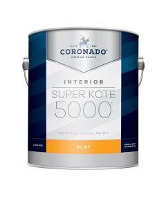 1 Gallon Super Kote 5000 Interior Flat White Paint