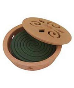 Mosquito Coil Burner Combo
