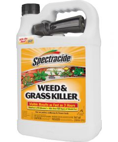 Spectracide Ready-To-Use Weed Killer, 1 gal, Bottle, Amber, Liquid